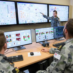 Engine Room Simulator Model For Royal Australian Navy Training