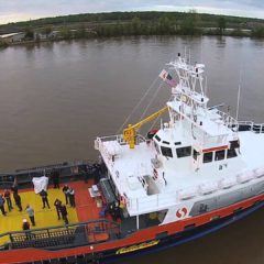 Second Vessel in SEACOR Marine's Express Plus class of Fast Support Vessels Delivered